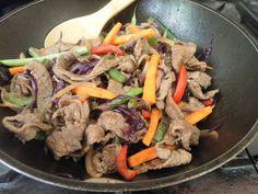 Cocina que te cocina: Salteado de carne y vegetales