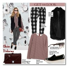 """Get the look: Olivia Palermo"" by helenevlacho ❤ liked on Polyvore featuring rag & bone, DKNY, Zara, Wunderkind, women's clothing, women's fashion, women, female, woman and misses"