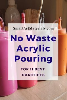 How to Minimize the Waste Involved in Acrylic Pouring? This 11 Practices will he… How to Minimize the Waste Involved in Acrylic Pouring? This 11 Practices will he…,AAB Acryl How to Minimize the Waste. Pour Painting Techniques, Acrylic Pouring Techniques, Acrylic Pouring Art, Acrylic Art, Art Techniques, Flow Painting, Acrylic Painting Lessons, Acrylic Painting Tutorials, Painting Hacks