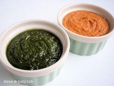 {A Little Hummus & Pesto}  #glutenfree #vegan