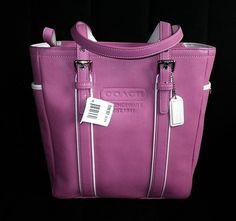 Coach pink tote, handbag