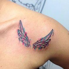 35 Angel Wings Tattoos