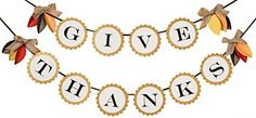 Give Thanks Garland Kit