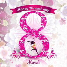 Womens Day Quotes National Ideas For 2019 Happy Woman Day, Happy Mother S Day, Happy Women, Happy Mothers, Women's Day Logo, Happy Holi, International Womens Day Quotes, Valentine's Day Poster, 8th Of March
