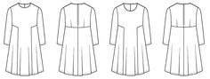 Sew Over It Nancy Dress PDF Pattern