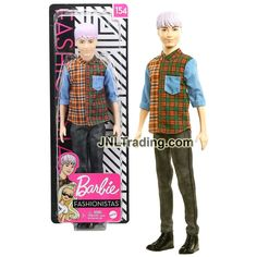 Year 2019 Barbie Fashionistas Series 12 Inch Doll #154 - Blond Asian M – JNL Trading