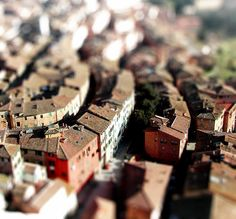 Roofs from above.