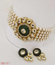 Necklaces & Chains Alloy Jewellery Set Base Metal: Alloy Plating: No Plating Stone Type: Kundan Sizing: Adjustable Type: Necklace Multipack: 1 Sizes: Country of Origin: India Sizes Available: Free Size   Catalog Rating: ★4.3 (484)  Catalog Name: Shimmering Graceful Women Necklaces & Chains CatalogID_2414842 C77-SC1092 Code: 762-12513871-816