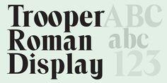 Trooper Roman - Webfont & Desktop font « MyFonts