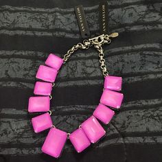 New Ann Taylor pink necklace Brand new. Check my other stuff too. Ann Taylor Jewelry Necklaces