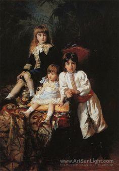 Makovsky Vladimir Matveyevich Children of Mr Balashov 1.880