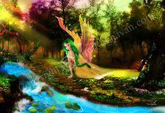 Fantasy Fairies, customized line art, coloring pages. Line Art, Fairies, Coloring Pages, Glitter, Fantasy, Creative, Unique, Handmade, Painting
