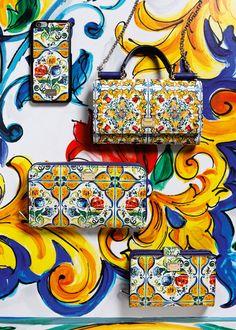 Dolce & Gabbana Women's Maiolica Collection Fall Winter 2016 2017 | Dolce & Gabbana