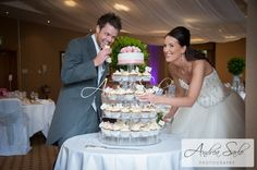 emily & max grab a bit of their cake on wedding day Wotton House, British Summer, Glorious Days, Wedding Day, Wedding Dresses, Cake, Pi Day Wedding, Bride Dresses, Bridal Gowns