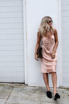 rose gold silk   golden skin    Luc-Williams-Fashion-Me-Now-Slip-Dresses-Two-Ways _-10