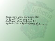 Hogwarts Houses | best stuff