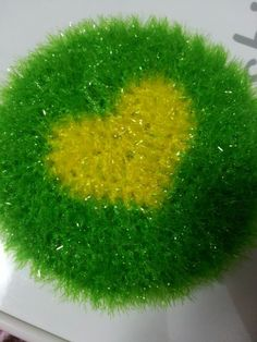 [crochet] 하트 호빵 수세미 : 네이버 블로그