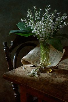 #still #life #photography • Lily Of The Valley  Print By Nikolay Panov