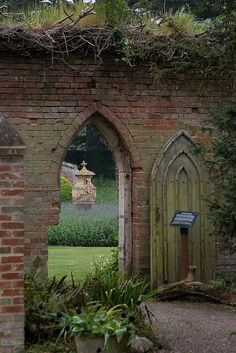 Just like in the Secret Garden! Doorway to the Walled Garden, Kentwell Hall by Rob Roy