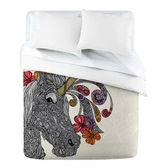 I pinned this Unicornucopia Duvet Cover from the Valentina Ramos event at Joss and Main!