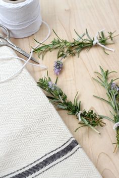 Herb Bouquet Garni / Herbes de Provence via homework