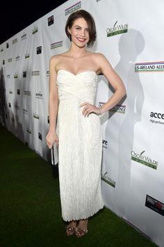 Lauren Cohan at the 12th annual Oscar Wilde Awards in Santa Monica, 2017.
