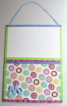 Get organized and start the new school year with this fun and personalized bulletin board