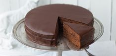 Created in the Sacher Torte must be the most famous chocolate cake in the world today. Austrian Desserts, Austrian Cuisine, Austrian Recipes, Just Cakes, Cakes And More, Sacher Torte Recipe, Just Desserts, Dessert Recipes, Famous Chocolate