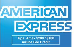 Amex $200 / $100 Airline Fee Credit - Tips & Tricks for American Express Cards - http://therewardboss.com/amex-200-100-airline-fee-credit-tips-tricks-american-express-cards/