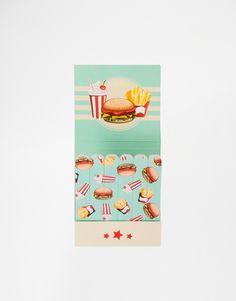Image 1 - Mini limes à ongles motifs fast-food