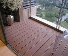 Modern wood-plastic balcony floor price
