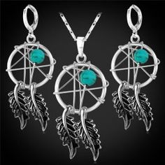 SHARE & Get it FREE | Faux Turquoise Leaf Jewelry SetFor Fashion Lovers only:80,000+ Items • FREE SHIPPING Join Twinkledeals: Get YOUR $50 NOW!