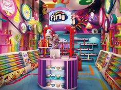 Agora tem loja da Fini no Hopi Hari