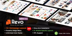 Download Revo v2.1 - Multi-purpose WooCommerce WordPress Theme with Mobile Layouts Nulled Latest Version