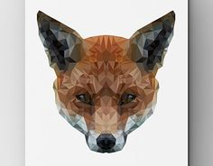 """Check out new work on my @Behance portfolio: """"Fox"""" http://be.net/gallery/40772475/Fox"""