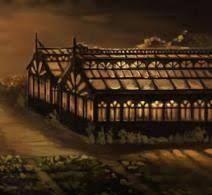 Image result for hogwarts greenhouses