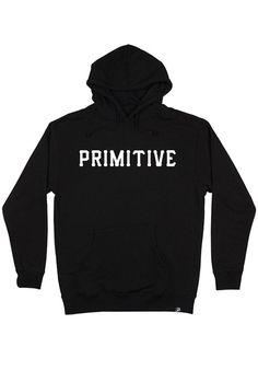 Primitive Slab Type Pullover Hoodie. Custom Screen PrintingCustom  ScreensKangarooPrimitivePulloverHoodieSweatshirtMen's ClothingLabel