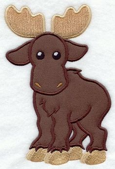 $1  Moose (applique)