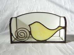 stain glass business card holder - Google Search