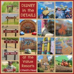 Disney in the Details – Value Resorts