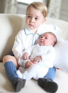 Prince William has confirmed that his daughter Charlotte is already 'very ladylike', while her older brother George sounds like more of a handful