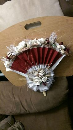 Lydia's fan bouquet