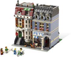 Pet Shop Advanced Models - Modular Buildings Year2011 Pieces2032