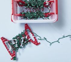 8 Holiday Storage Solutions Lightschristmas