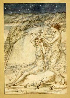 010-Comus de John Milton-ilustrada por Rackham 1921