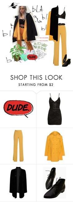 """""""your're italic. im in gold"""" by a-new-hope ❤ liked on Polyvore featuring Quarry, Theory, Save the Duck and Eileen Fisher"""