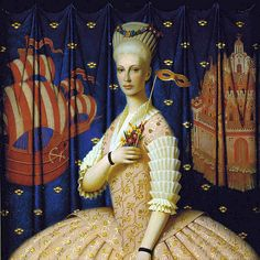Remnev, Andrey (1962- ) - 2001 Flight of the Bumblebee (Private Collection) by RasMarley, via Flickr