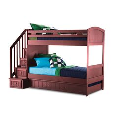 Canyon Twin Bunk Bed.  I am getting this for my boys! LOVE