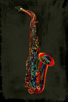 Shop for Band/Orchestra Alto Saxophone Package. Get free delivery On EVERYTHING* Overstock - Your Online Musical Instruments Shop! Canvas Art Prints, Canvas Wall Art, Pop Art, Jazz Poster, Jazz Art, Art Textile, Wall Art For Sale, Art Music, Music Artwork