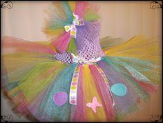 Easter TuTu Dress by LittleMonkeyFruFrus on Etsy, $25.00